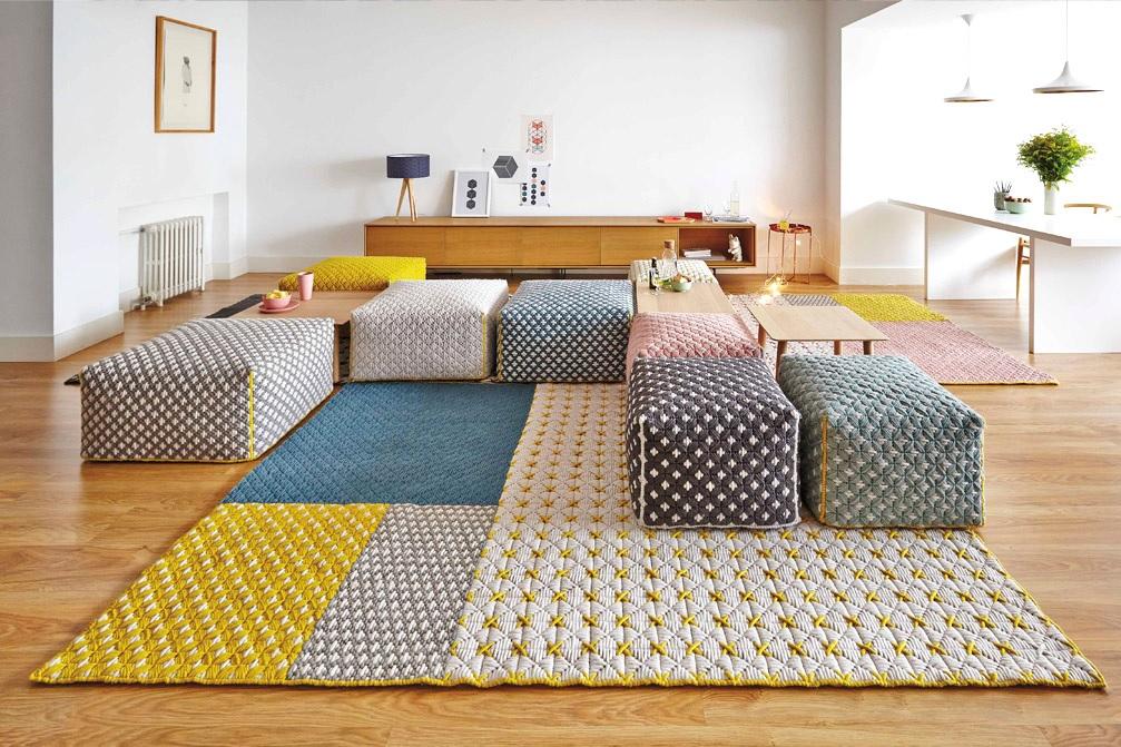 Gan Rugs gan-rugs-canevas-space-par-charlotte-lancelot-6 – blue bay design